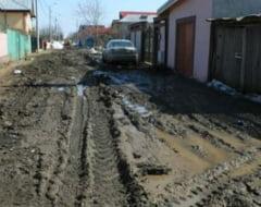 Cate strazi neasfaltate sunt in Bucuresti