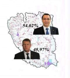 Cate voturi au obtinut Ponta si Iohannis in judetul Galati