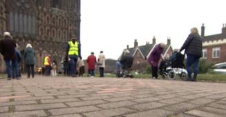 Catedrala transformata in centru de vaccinare, in Anglia. De ce au luat autoritatile aceasta masura