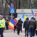 Cateva zeci de persoane protesteaza la Buzau fata de restrictiile impuse in contextul pandemiei