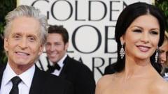 Catherine Zeta-Jones si Michael Douglas, impreuna ca in vremurile bune