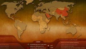 Cati oameni mor si cati se nasc in lume, in timp real