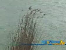Cautarile pescarului disparut, intrerupte din cauza vantului puternic