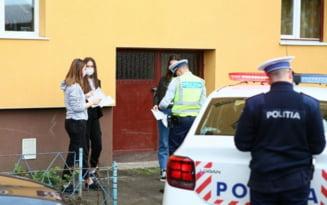 """Cautat de politisti la domiciliu, un brailean se """"izolase"""" intr-o alta locuinta cu o tanara"""