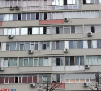 Caz socant in Cluj: Un nepot si-a impins bunica pe geam de la etajul 10. Femeia a murit pe loc