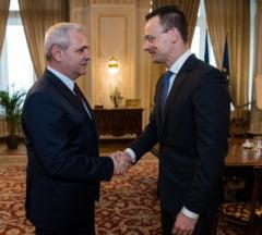 Ce a discutat Dragnea cu ministrul ungar de Externe si cand se va intalni cu Viktor Orban