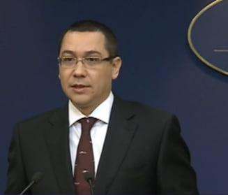 Ce a discutat Ponta cu reprezentantii Exxon Mobil si OMV Petrom