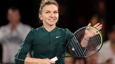 Ce a facut Simona Halep cand a dat de un poster cu ea, la Wimbledon FOTO