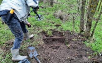 """Ce a gasit un fost politist pe un camp dintr-o comuna din Olt: """"Toti zeii norocului au fost cu mine"""""""