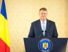 Ce a spus Iohannis in Parlament: mai putine legi, fara coruptie, Romania solidara cu UE (Video)