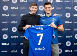 Ce a spus Steven Gerrard dupa venirea lui Ianis Hagi la Glasgow Rangers