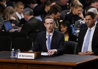 Ce a spus Zuckerberg in Congresul SUA: Date ale utilizatorilor Facebook au fost vandute si altor companii. Compania se lupta continuu cu rusii