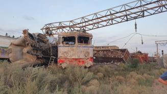 Ce alcoolemie avea mecanicul locomotivei care a intrat într-un tren la Fetești