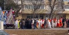 Ce amenzi a dat politia dupa inmormantarea fara reguli a bulibasei din Vrancea