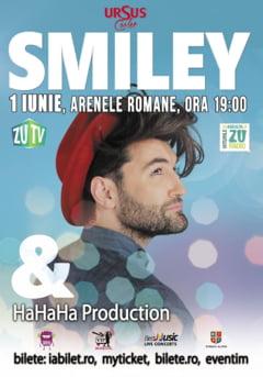 Ce artisti vor urca pe scena showului Smiley & HaHaHa Production
