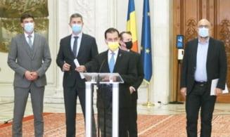 Ce au declarat liderii coalitiei la finalul negocierilor. Orban: Cei care au pariat pe faptul ca nu ne vom intelege si-au facut iluzii. Citu: coalitia merge mai departe