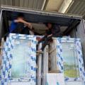Ce au descoperit politistii de frontiera intr-un camion care transporta usi termopan pentru o firma din Belgia