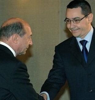 Ce au discutat Basescu si Ponta la prima intalnire din 2013 (Video)