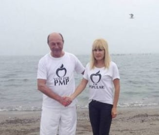 Ce au discutat Elena Udrea si Traian Basescu la Cotroceni si cu ce rezultat