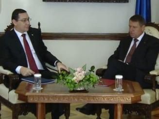 Ce au discutat Iohannis si Ponta la Cotroceni