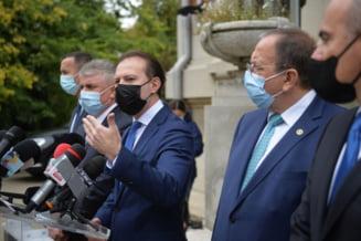 """Ce au discutat liderii liberali. Prima întâlnire Cioloș-Cîțu-Kelemen va avea loc miercuri. """"Firesc ar fi ca PNL să refacă coaliţia cu USR şi UDMR"""""""