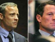 Ce au in comun cazurile Oscar Pistorius si Lance Armstrong