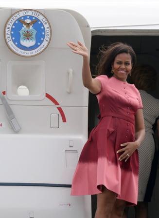 Ce cadouri le-a facut Michelle Obama copiilor regali ai Marii Britanii