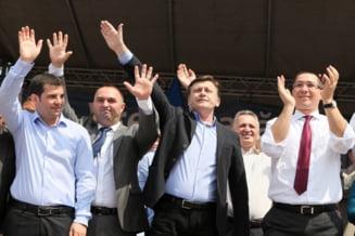 Ce colegii si-au rezervat pentru parlamentare presedintii partidelor din USL. Unde vor candida Victor Ponta si Crin Antonescu