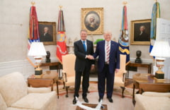 Ce contine declaratia comuna semnata de Iohannis si Trump: Subliniem opozitia noastra fata de Nord Stream 2