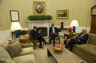 Ce contine declaratia semnata de Basescu si Obama: vize, securitate si investitii
