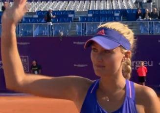 Ce decizie a luat Kristina Mladenovici dupa ce a invins-o pe Simona Halep
