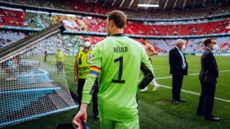 Ce decizie a luat UEFA in cazul Germaniei dupa ce portarul Neuer a purtat banderola de capitan in culorile curcubeului, un simbol al cauzei LGBT