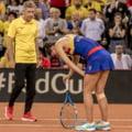 Ce diagnostic a primit Irina Begu dupa accidentarea din Fed Cup