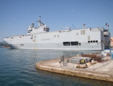 Ce face Franta cu navele pe care nu le mai vinde Rusiei? Hollande e linistit: Nicio problema! (Video)