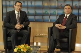 Ce i-a transmis Barroso lui Ponta la intalnirea de la Bruxelles (Video)