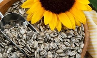 Ce minuni fac semintele de floarea-soarelui pentru sanatatea ta