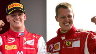 Ce obicei ciudat are baiatul lui Michael Schumacher in timpul curselor