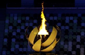 Ce onoare pe Naomi Osaka! Tenismena a aprins flacăra olimpică la Tokyo. Urmează 16 zile de foc FOTO