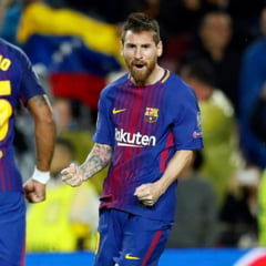 Ce performanta: Messi, 100 de goluri in cupele europene!