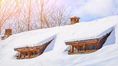 Ce probleme genereaza zapada de pe acoperisuri?