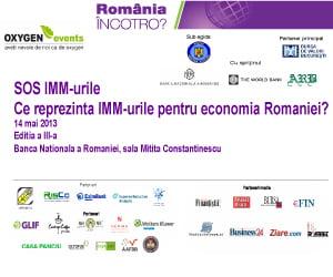 Ce reprezinta IMM pentru economia Romaniei?