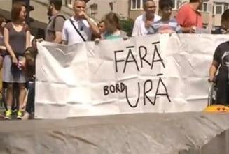 """Ce s-a cerut la marsul """"Orasul pentru oameni"""": Fara bordURA!"""