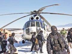 Ce s-a mai intamplat cu vamesii ridicati cu elicopterele
