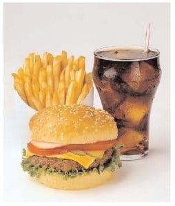 Ce sa alegi cand mananci la fast-food