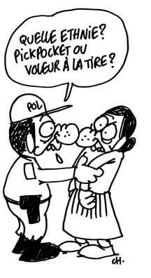 Ce scria Charlie Hebdo despre hotii romani