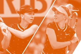 Ce scriu organizatorii de la Roland Garros inaintea meciului dintre Simona Halep si Amanda Anisimova