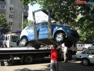 Ce se va intampla cu masinile parcate neregulamentar in Bucuresti, cand va ninge