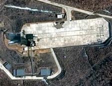 Ce se vede din satelit in Coreea de Nord