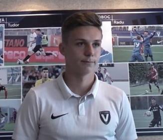 """Ce spune Hagi despre noul star de 17 ani al Viitorului: """"M-a fortat sa il bag"""""""