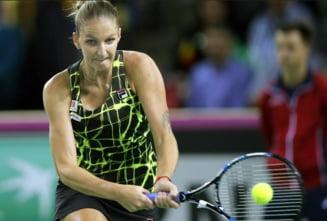 Ce spune Karolina Pliskova dupa ce a invins-o pe Simona Halep